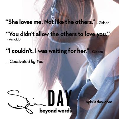 Captivated by You by Sylvia Day Teaser