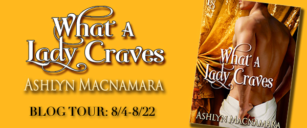 WHAT A LADY CRAVES_Blog Tour Art