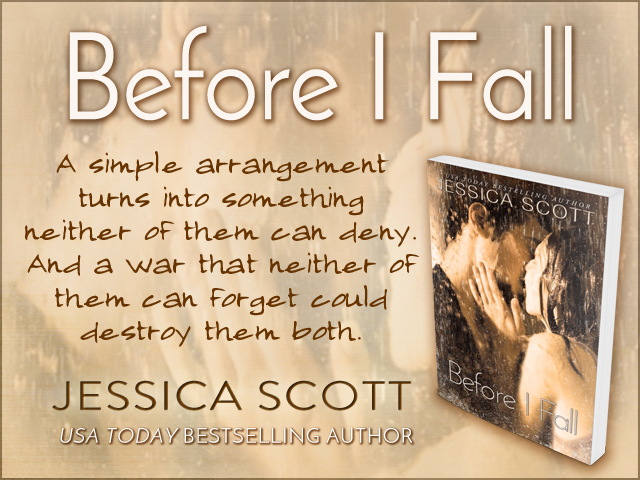 Before I Fall by Jessica Scott Banner